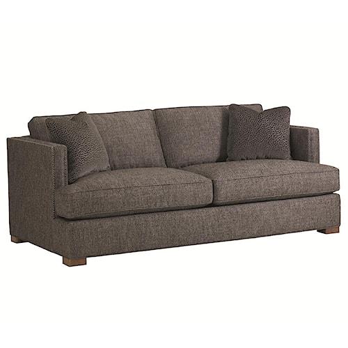 Lexington 11 South Loose Back Fillmore Stationary Sofa