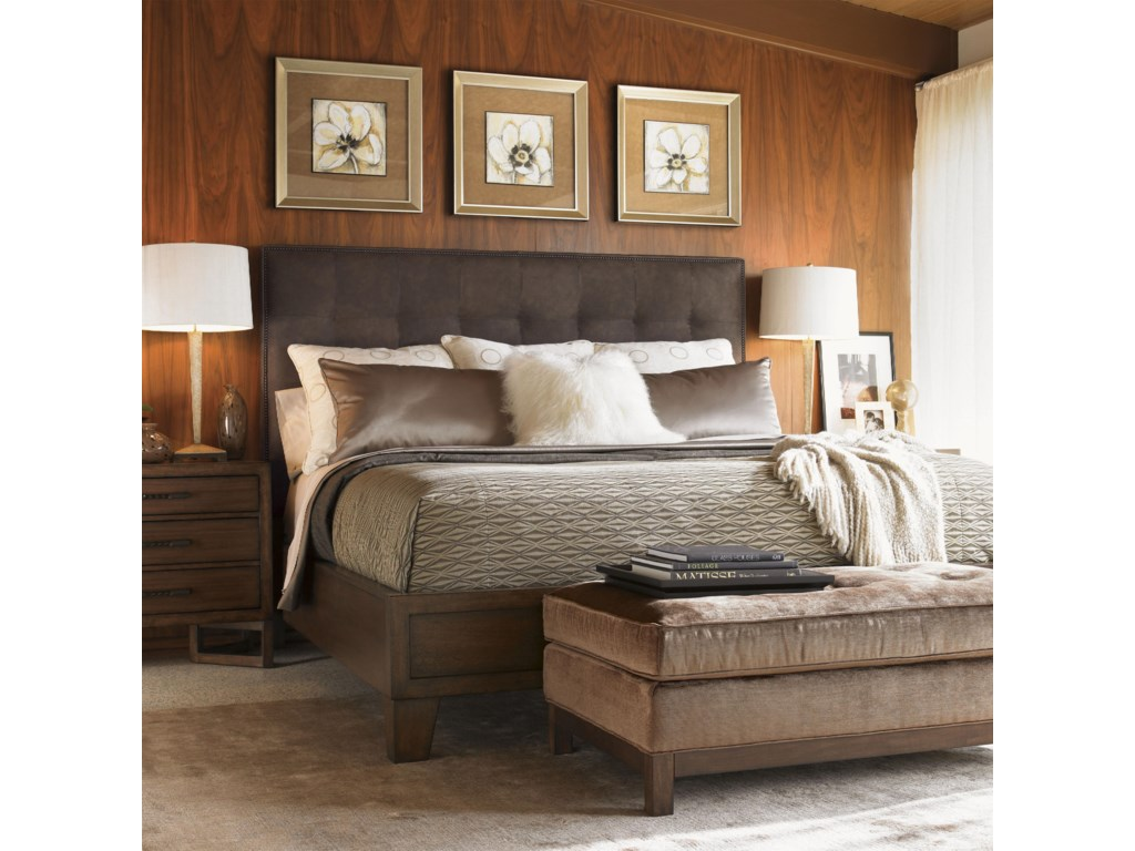 Shown with the Donovan Upholstered Bed and Loft Nightstand