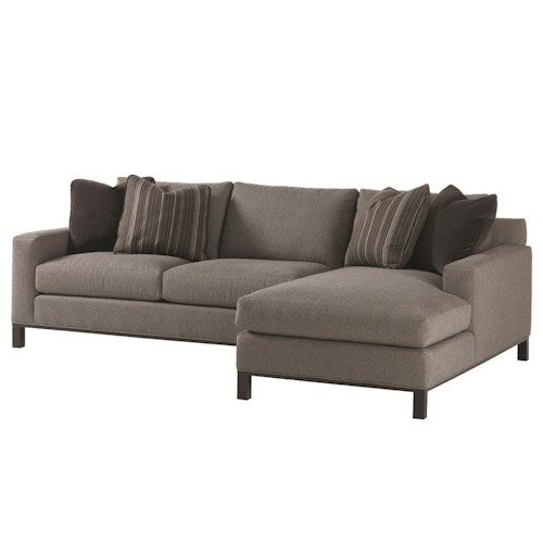 Lexington 11 South 2-Piece Upholstered Chronicle Sectional
