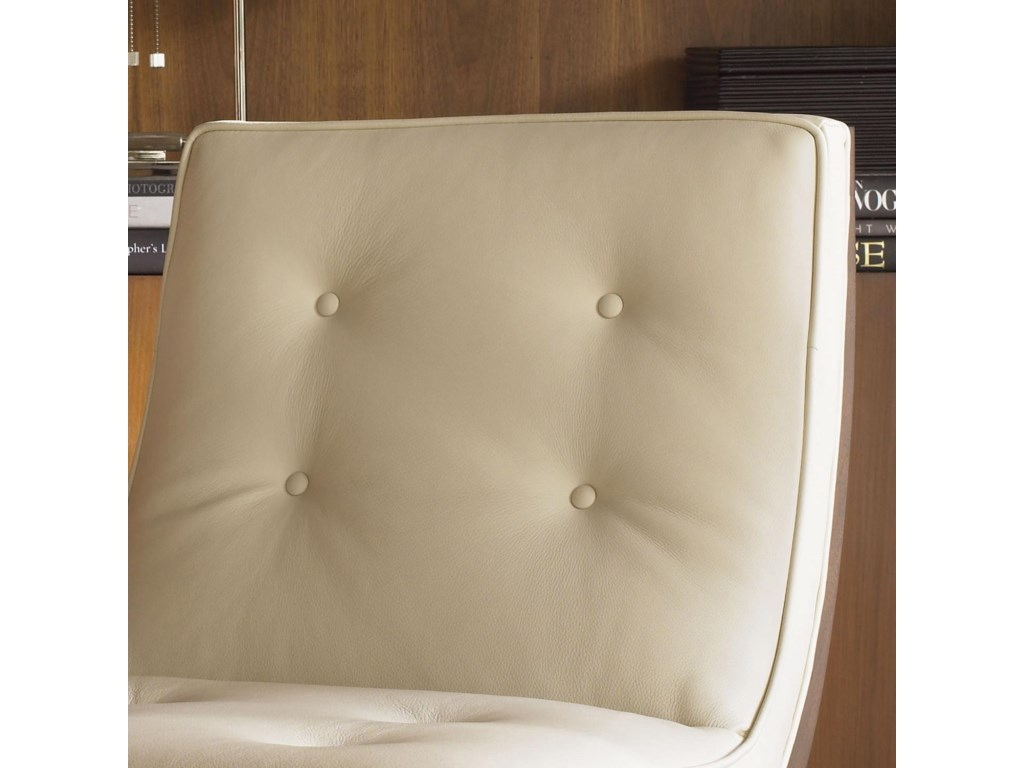 Tufted Back Cushion Reinforces the Updated Contemporary Style of the Collection