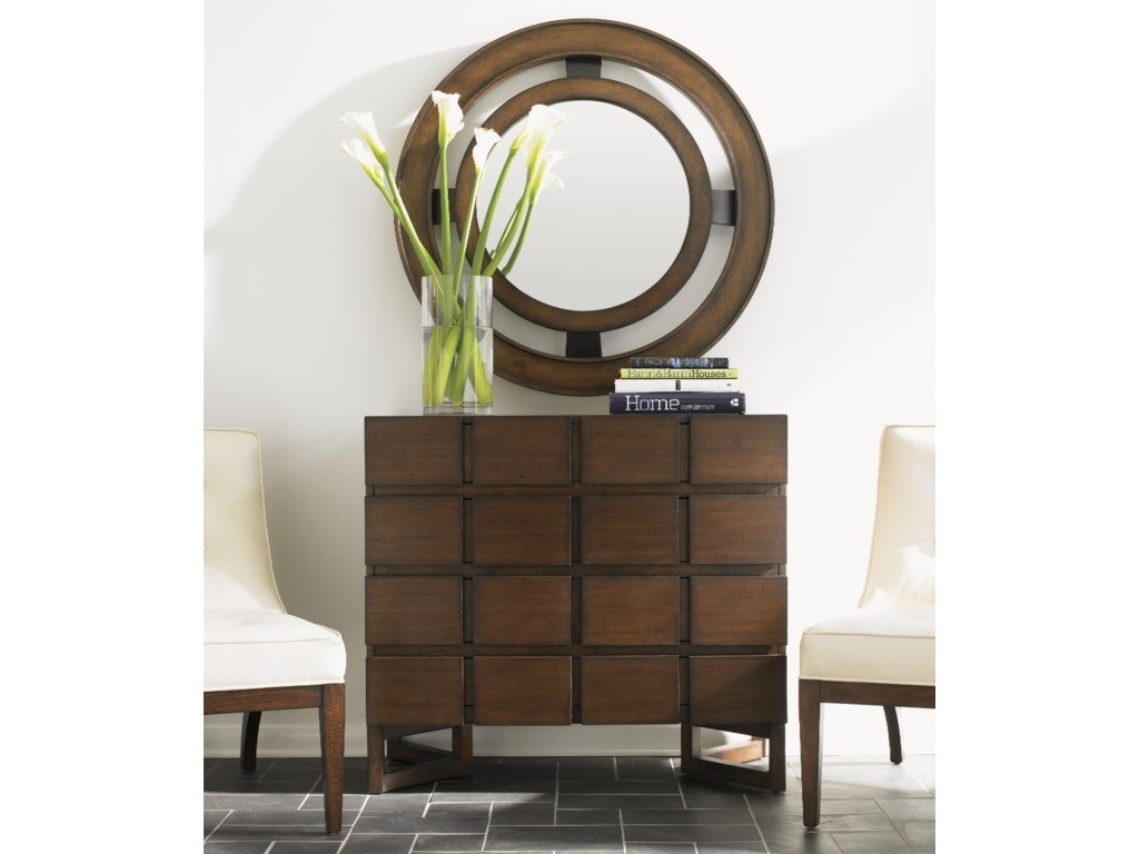 Shown with Hall Chest and Radius Mirror
