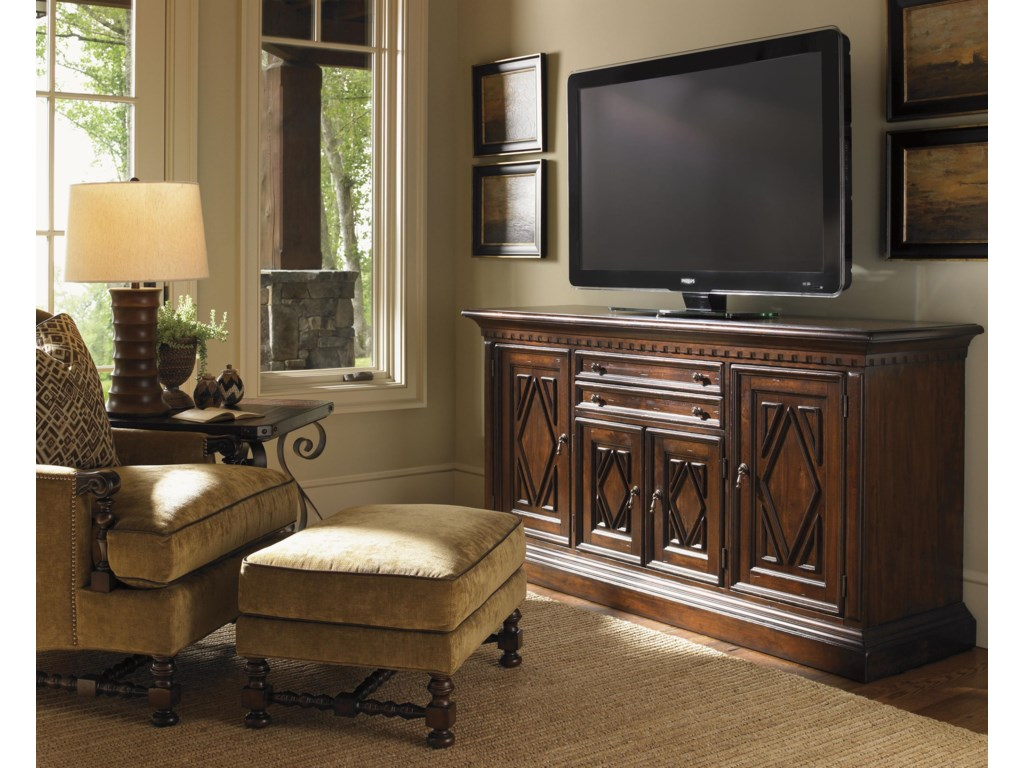 Shown with Bradbury Wing Chair, Glenwood Buffet, and Littleton End Table