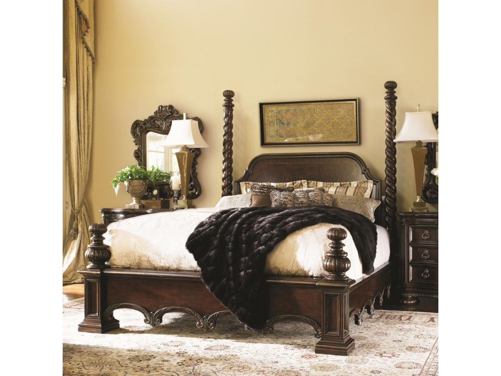 Lexington FlorentinoKing Vittoria 99 Poster Bed