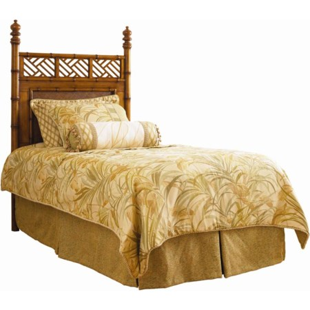 Twin West Indies Headboard