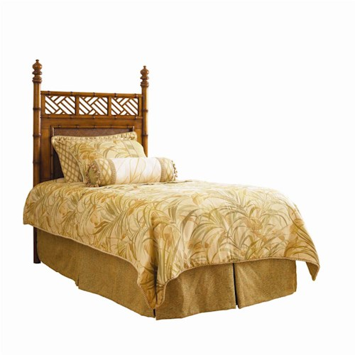 Tommy Bahama Home Island Estate Twin-Size Woven West Indies Headboard