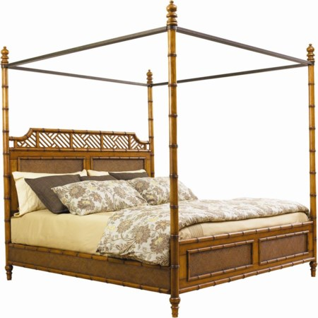 Queen West Indies Bed