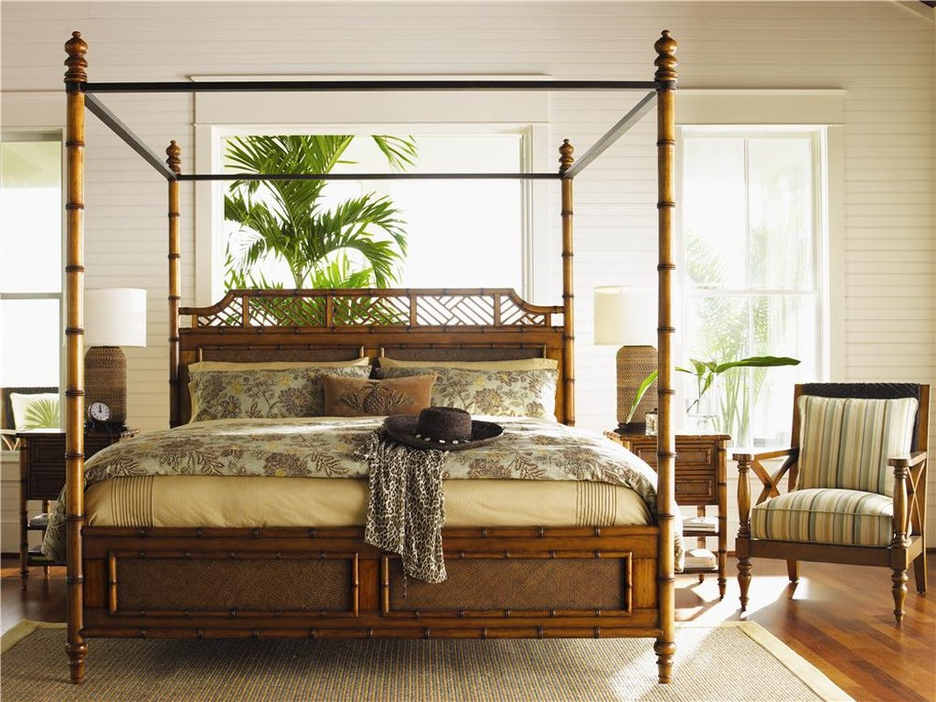 Tommy Bahama Home Island EstateCalifornia King West Indies Bed