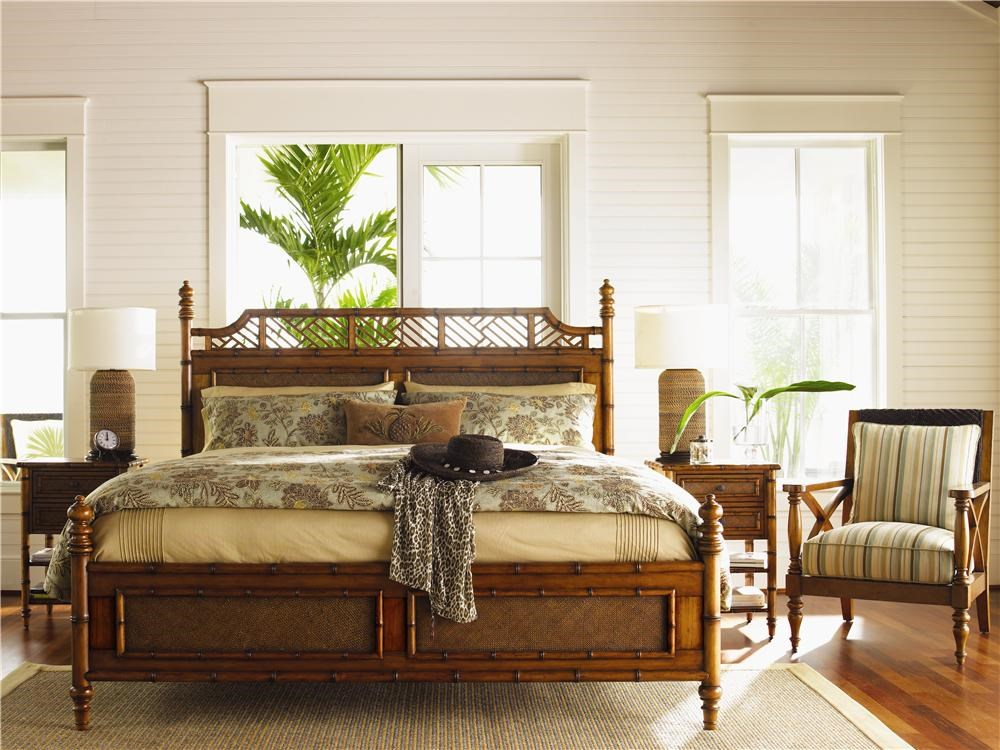 Shown with West Indies Bed & Avalon Chair
