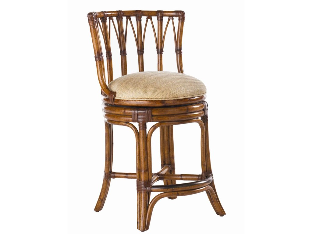 Tommy Bahama Home Island Estate<b>Customizable</b>South Beach Counter Stool