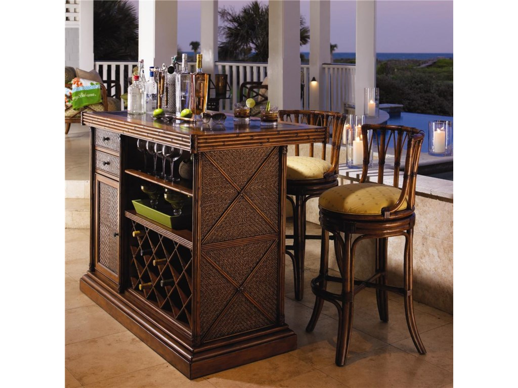 Tommy Bahama Home Island EstateSouth Beach Swivel Bar Stool