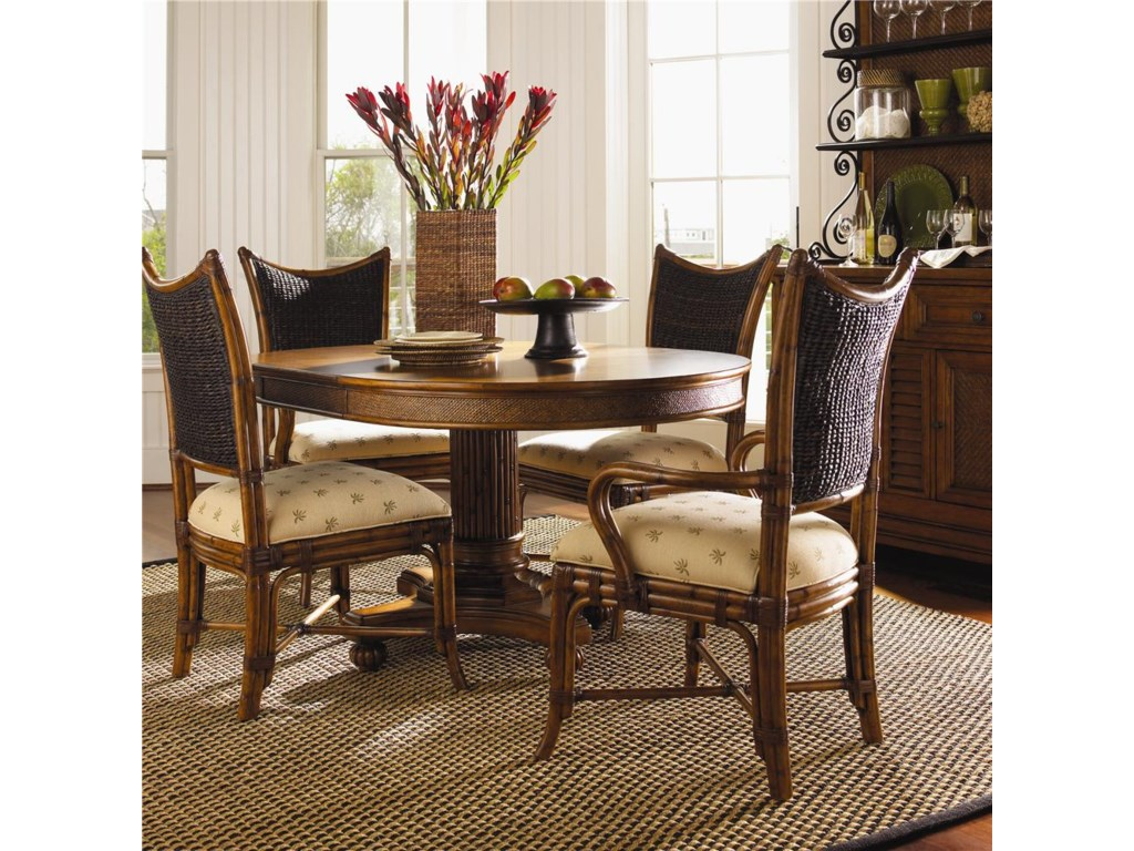 At Home Kitchen Chairs.Tommy Bahama Home Island Estate 5 Piece Dining Cayman Table