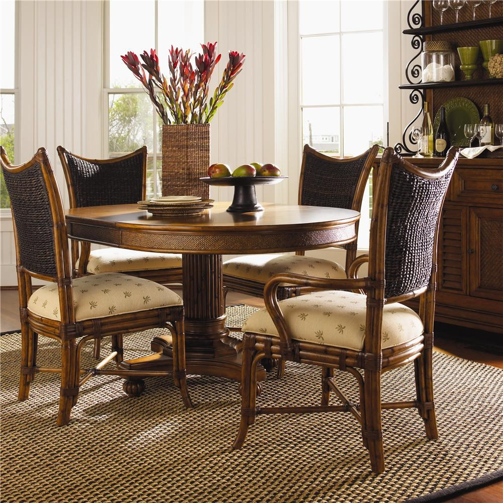 Genial Tommy Bahama Home Island Estate5 Piece Cayman Kitchen Table Dining Set