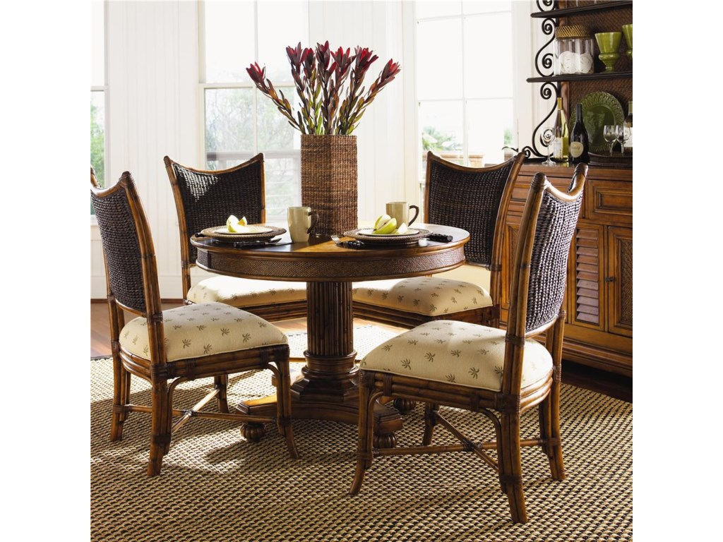 Shown with Mangrove Side Chairs - Hutch Shown in Image is No Longer Available by the Manufacturer