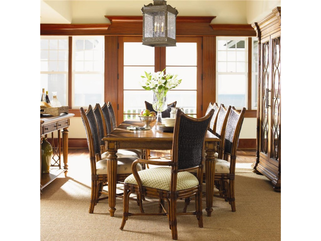 Shown with Mangrove Arm & Side Chairs