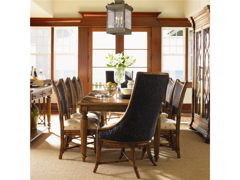 Shown with Cruz Bay Host Chair & Grenadine Rectangular Dining Table