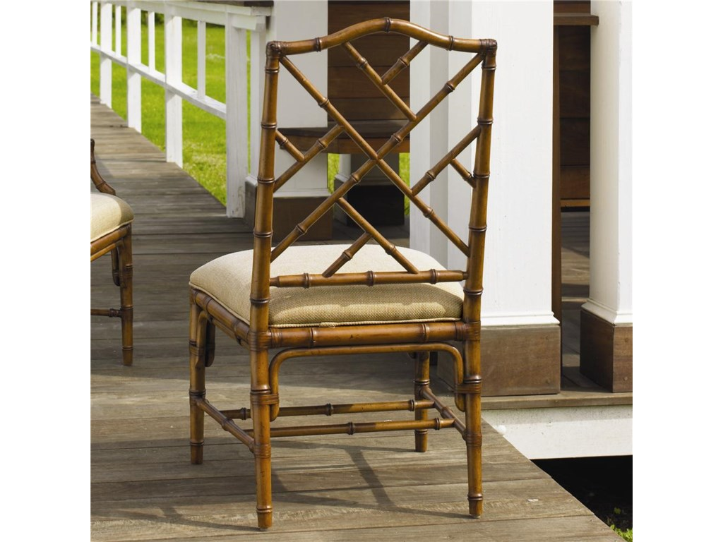 Tommy Bahama Home Island Estate<b>Quick Ship</b> Ceylon Side Chair