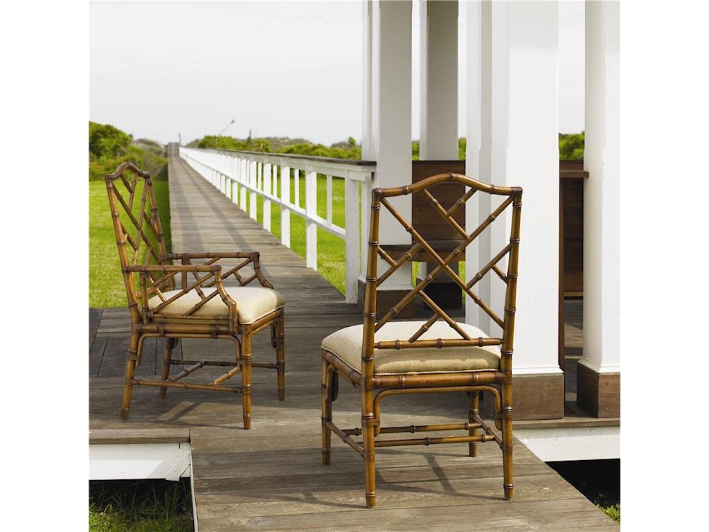 Tommy Bahama Home Island Estate<b>Customizable</b> Ceylon Side Chair