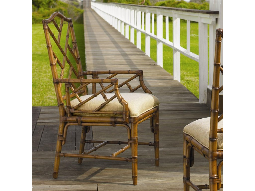 Tommy Bahama Home Island Estate<b>Customizable</b> Ceylon Arm Chair