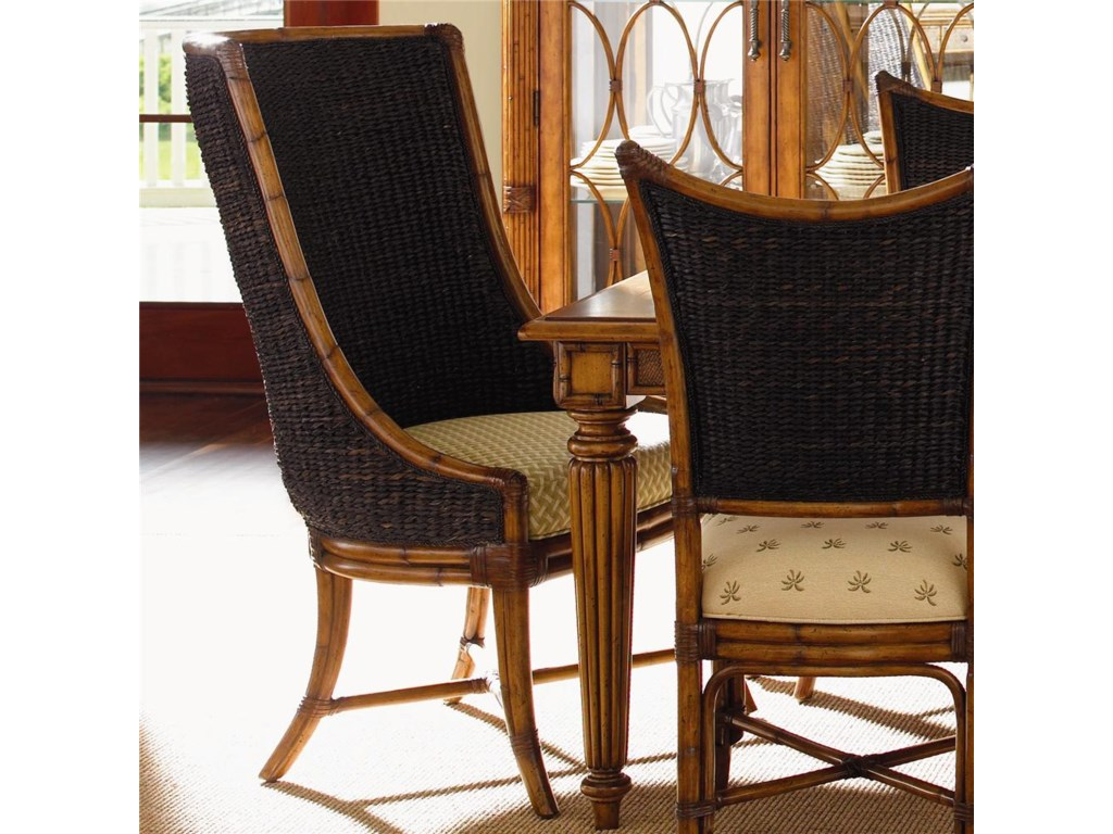 Tommy Bahama Home Island Estate<b>Quick Ship</b> Cruz Bay Host Chair