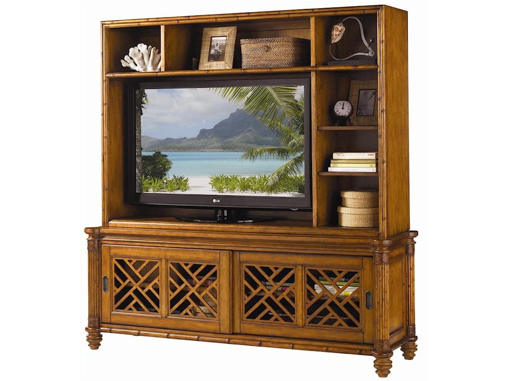 Tommy Bahama Home Island EstateNevis Media Console & Hutch