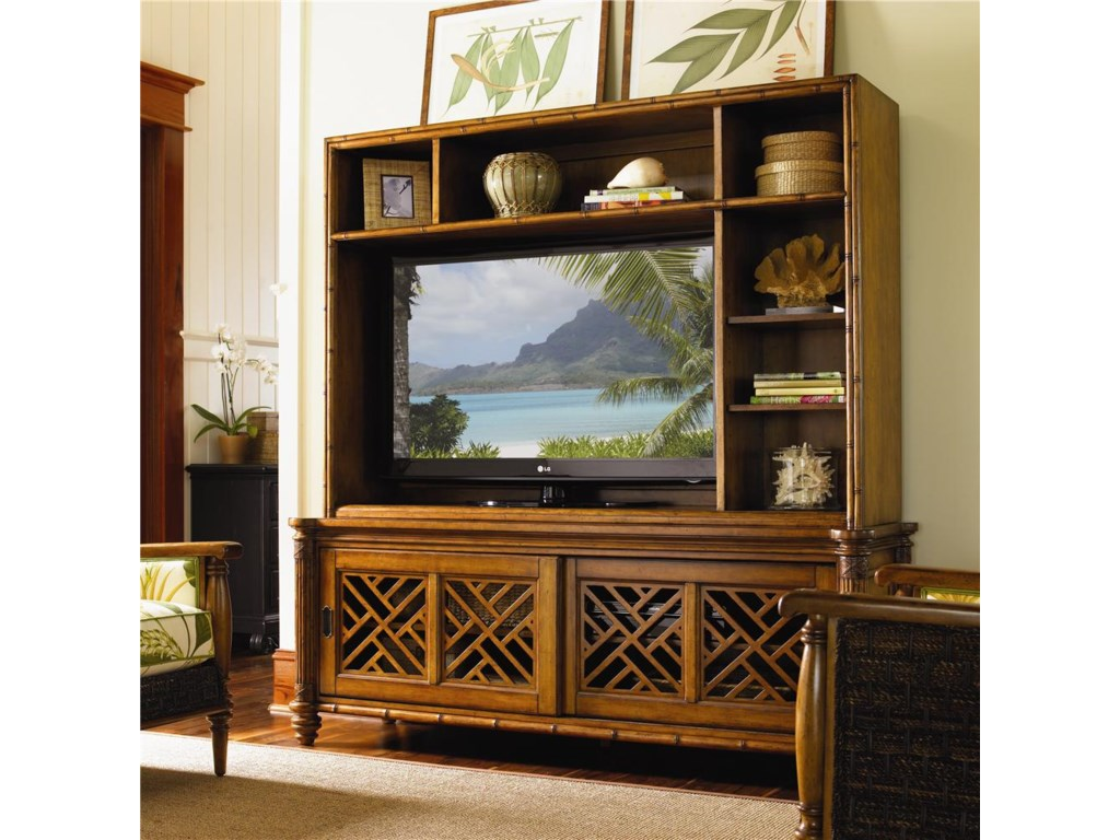 Tommy Bahama Home Island EstateNevis Media Console & Hutch