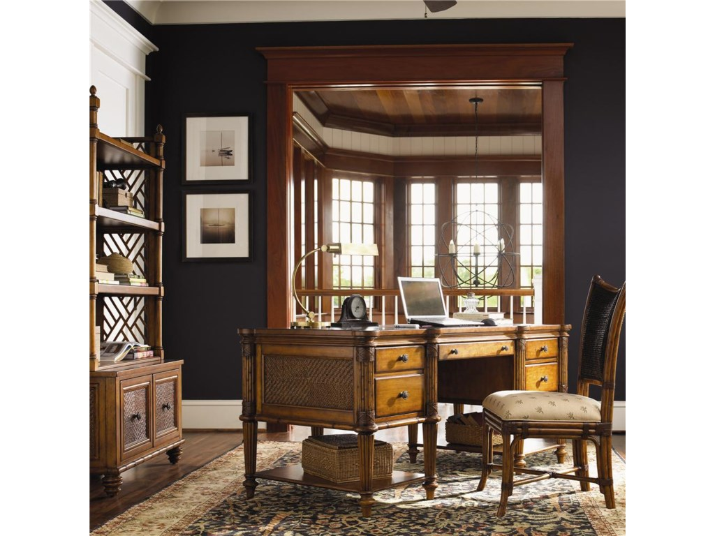 Shown with Ocean Point Chest & Hutch and Mangrove Side Chair