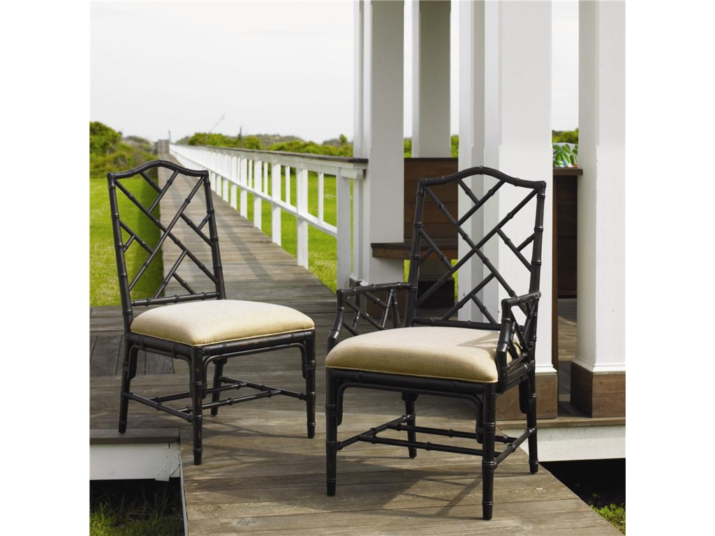 Tommy Bahama Home Island Estate<b>Customizable</b> Ceylon Side Chair