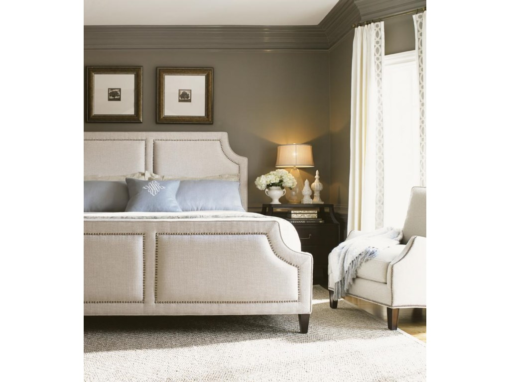 Lexington Kensington PlaceQueen Chadwick Upholstered Bed