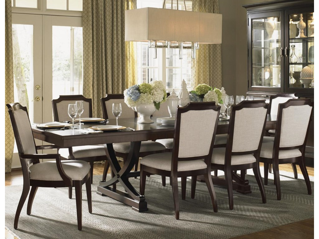 Lexington Kensington Place11 Pc Dining Set