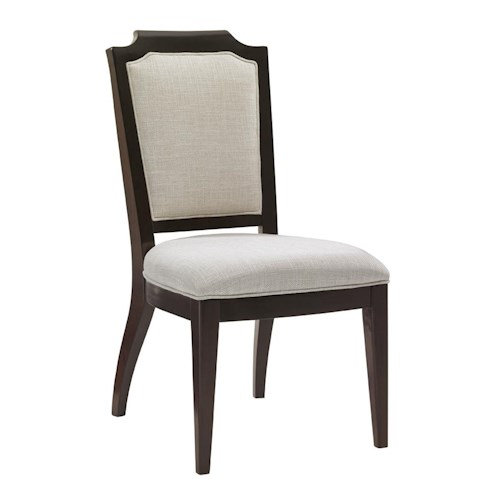 Lexington Kensington Place Candace Side Chair Upholstered in Odessa Fabric