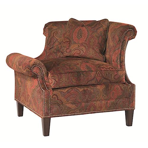 Lexington Lexington Upholstery Right Leaning Braddock Upholstered Chair
