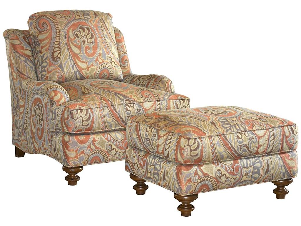 Lexington Lexington UpholsteryTraditional Styled Elton Accent Ottoman