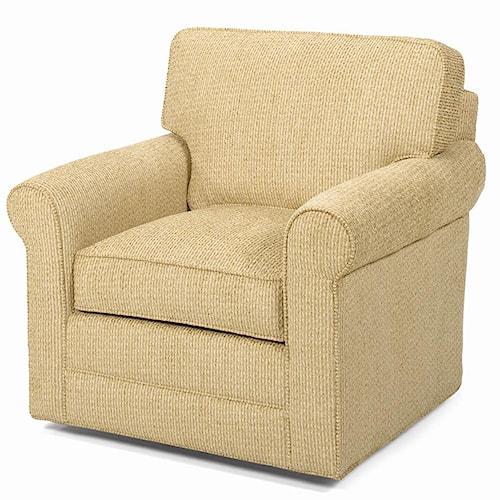 Lexington Lexington Upholstery Clifton Upholstered Swivel Chair