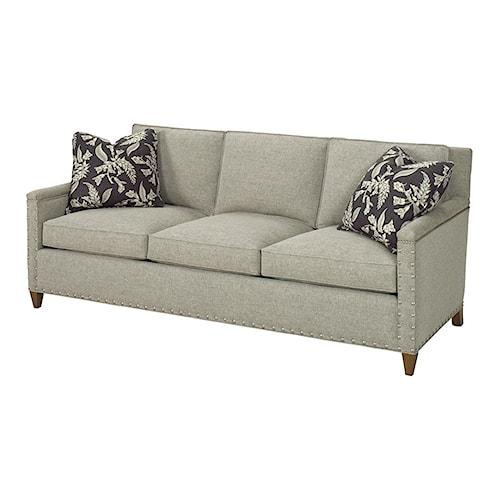 Lexington Lexington Upholstery Contemporary Chase Sofa with Ornamental Nailheads