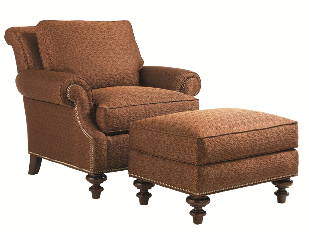Lexington Lexington UpholsteryDarby Chair and Ottoman