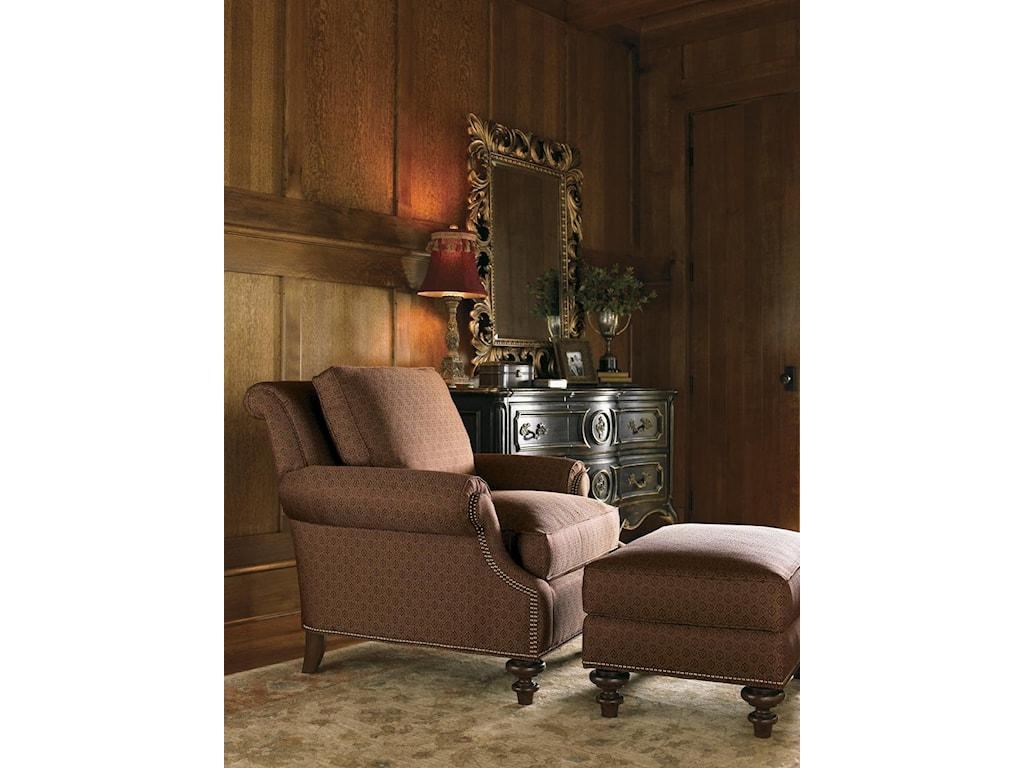 Lexington Lexington UpholsteryDarby Chair and Ottoman