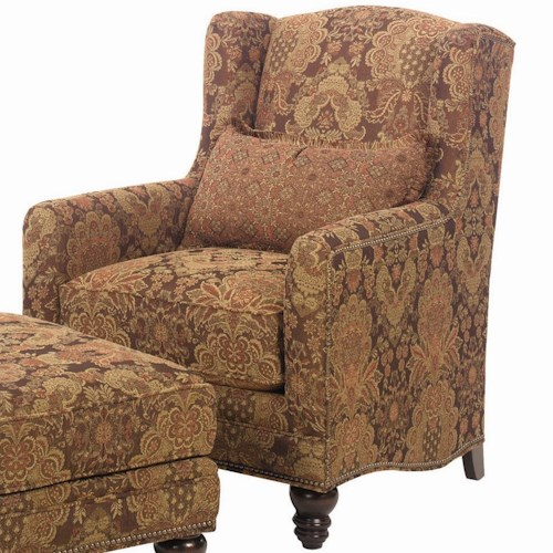 Lexington Lexington Upholstery Micah Upholstered Chair with Turned Legs