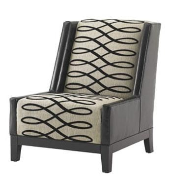 Pearl Chair with Wood Base