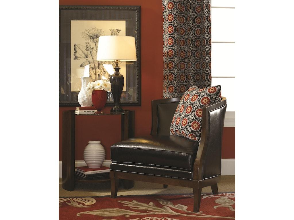 Lexington Lexington LeatherGarland Right Arm Facing Chair