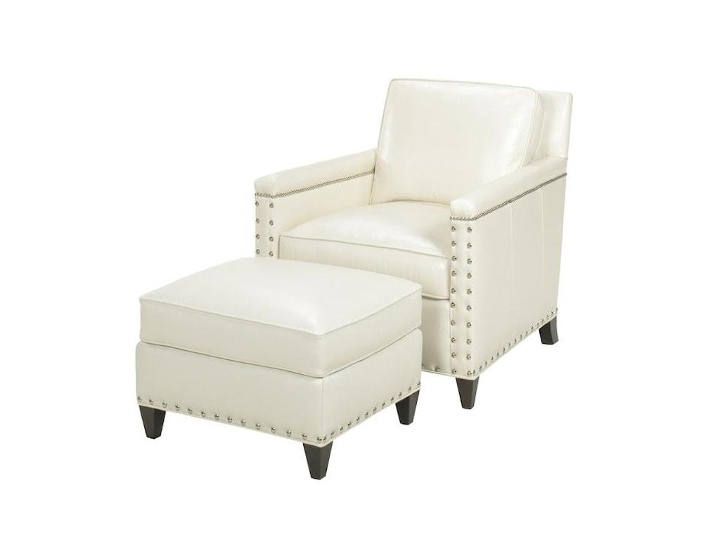 Lexington Lexington LeatherChase Chair and Ottoman