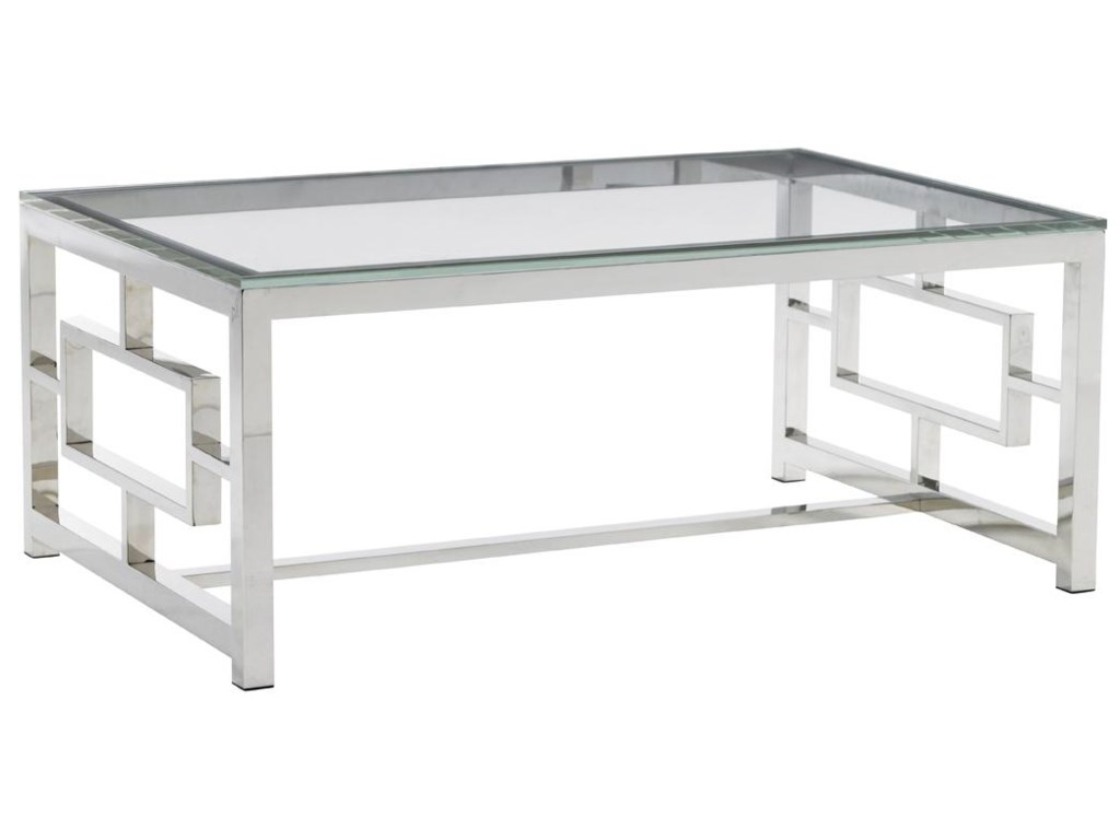 Lexington MirageRussell Glass Top Cocktail Table