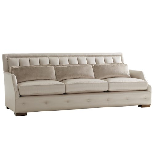 Lexington Mirage <b>Customizable</b> Audrey Channel Back Sofa