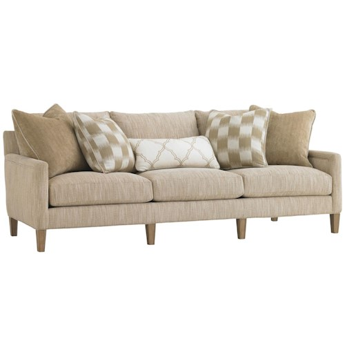 Lexington Monterey Sands Signal Hill Sofa with Track Arms