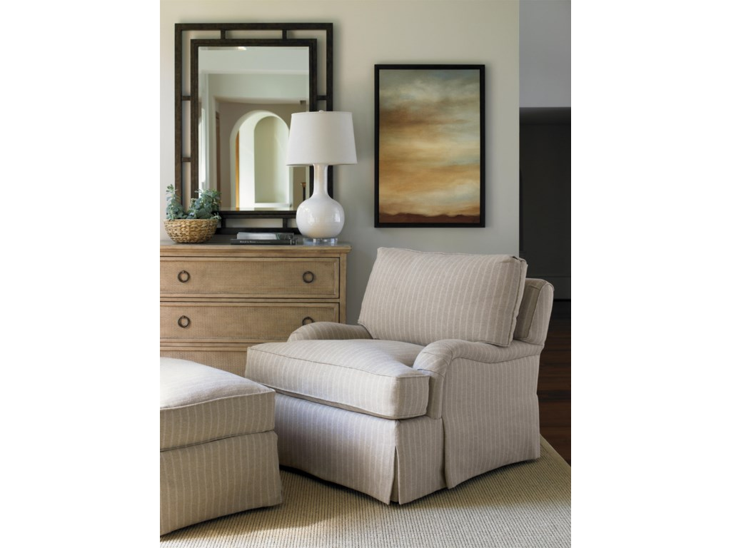 Shown with Morro Bay Chest and Colton Hall Chair & Ottoman