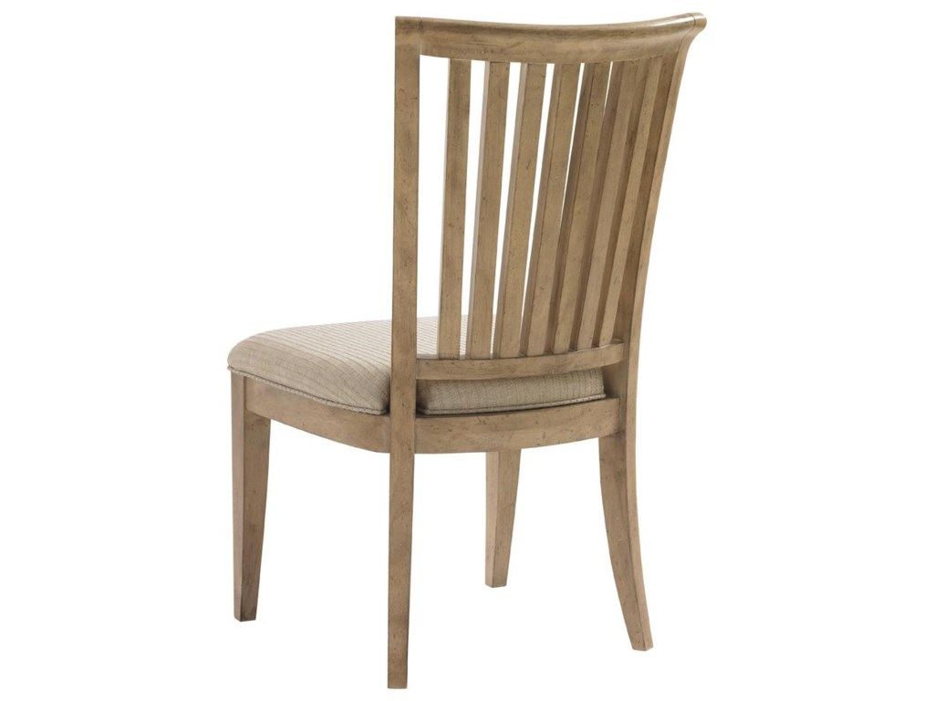Back View of Alameda Side Chair