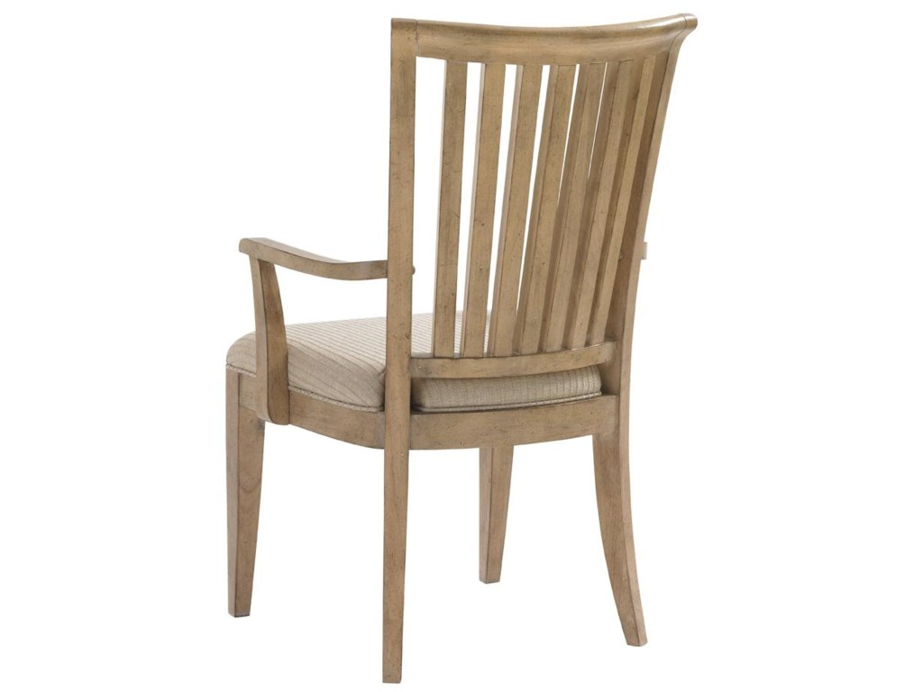 Back View of Alameda Arm Chair