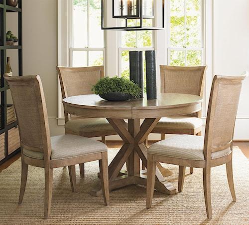 Lexington Dining Room Furniture: Lexington Monterey Sands Five-Piece San Marcos Dining