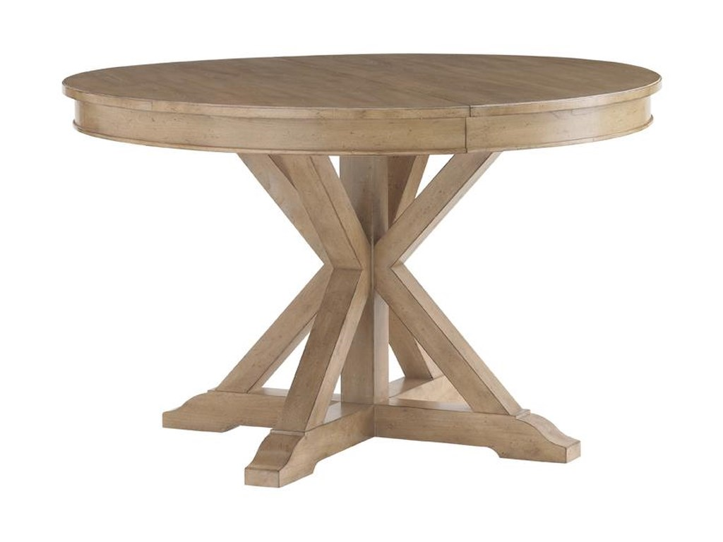 Round Table Los Altos.Lexington Monterey Sands San Marcos Round Dining Table Belfort
