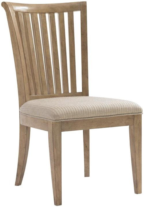 Lexington Monterey Sands <b>Customizable</b> Alameda Slat Back Side Chair