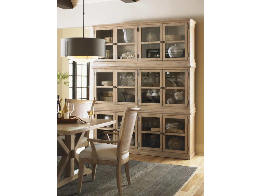 Shown with Sausalito Door Stacking Unit
